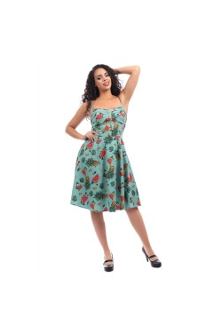 Robe vintage collectif tropicale