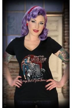 Tee shirt hot rod femme