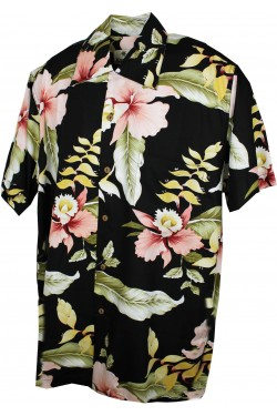 Chemise rockabilly hawaiienne homme