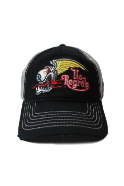 Casquette no regrets speed shop