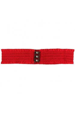Ceinture large rouge pin up