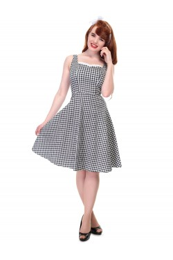Robe rockabilly vichy