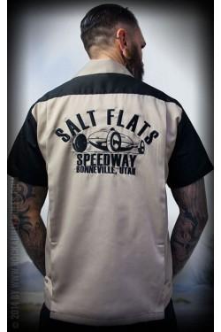 Chemise bowling rumble 59 salt flat