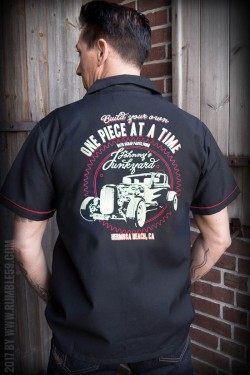 Chemise bowling Johnny junkyard rumble59