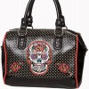 Sac pin up tete de mort