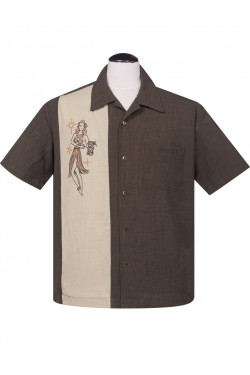 Chemise rockabilly homme