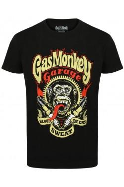 Tee shirt Gas monkey garage sparkplug