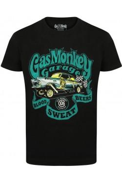 Tee shirt gas monkey garage Gasser