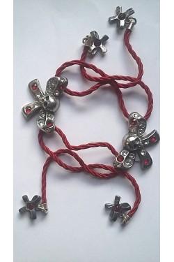 Bracelet tête de mort