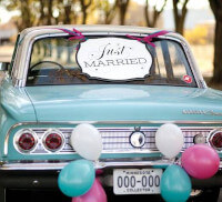 Hot rod mariage rockabilly
